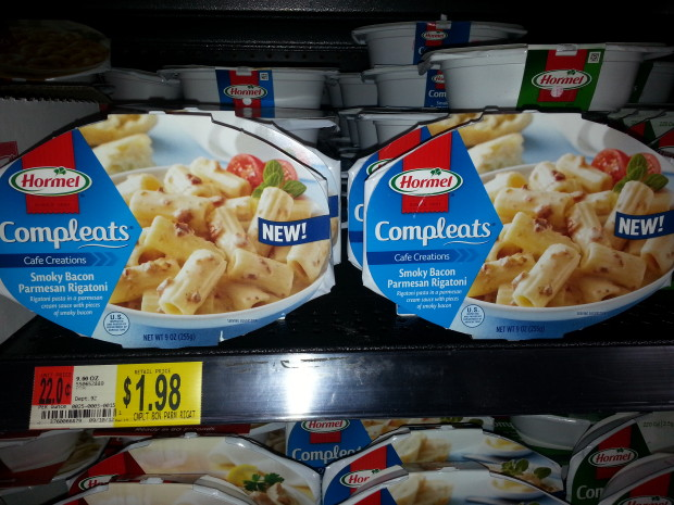 Hormel Compleats Only $1.48 at Walmart!