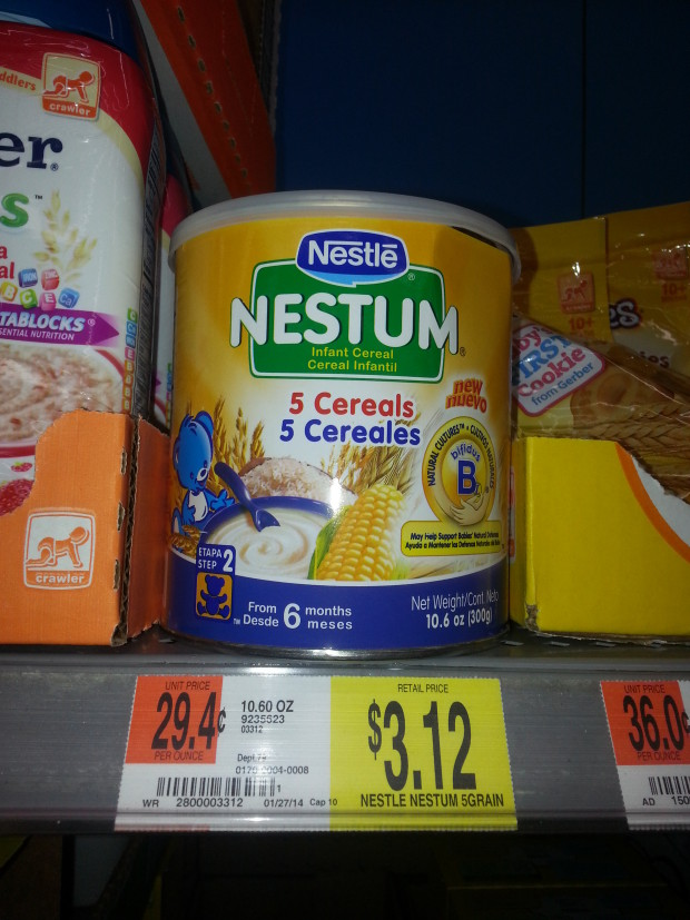 Nestle Nestium Cereal Only $2.49 at Walmart!