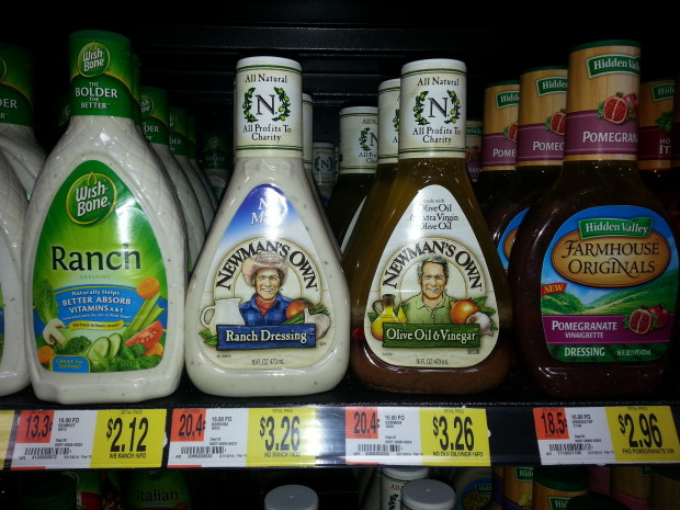 Newman's Own Salad Dressing Only $2.51 at Walmart!