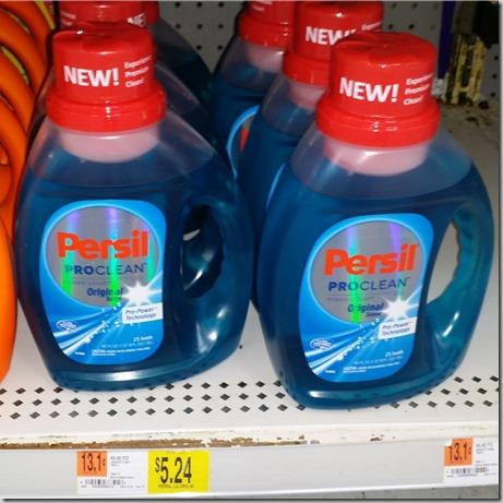 Persil Detergent Just $3.24 at Walmart!