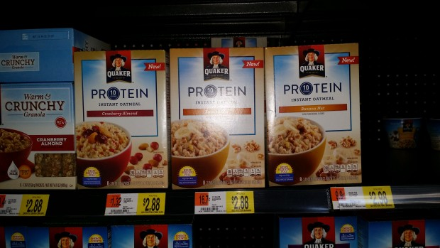 Quaker Protein Oatmeal Only $1.88 at Walmart!