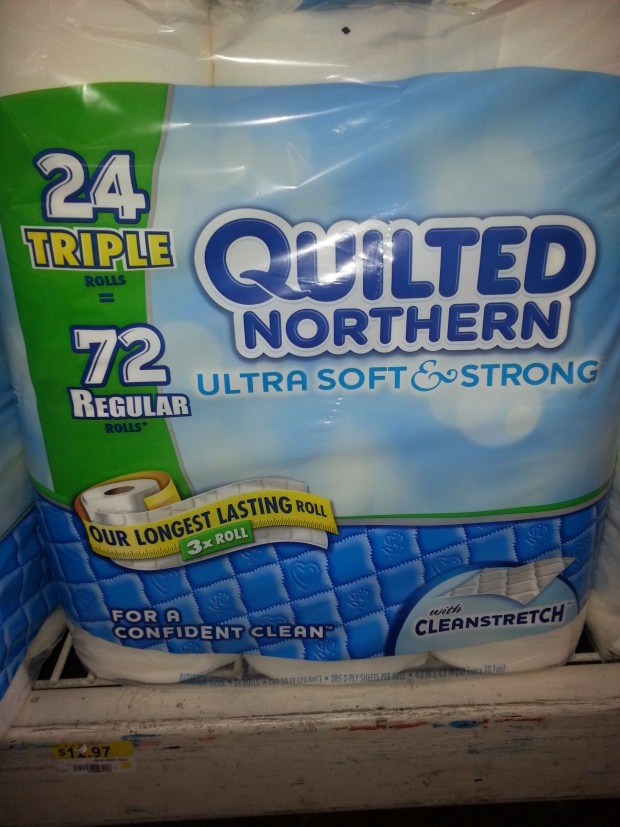 Quilted Northern Bath Tissue 24 Triple Rolls Only $10.97 at Walmart