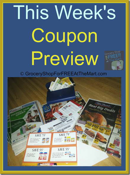 5/3 Sunday Coupon Preview–4 BIG Inserts This Week!