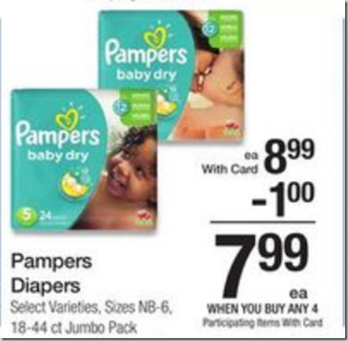 Walmart Price Match Deal: Save Big on Pampers Diapers!