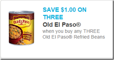 Tomorrow Only: Old El Paso Refried Beans Just $.33 a Can at Walmart or Safeway!