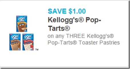 New Printable Coupons for Kellogg's Pop-Tarts and Froot Loops and Walmart Matchups!