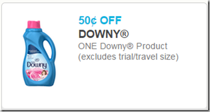 New Printable Coupons for Gain, Bounce and Downy!