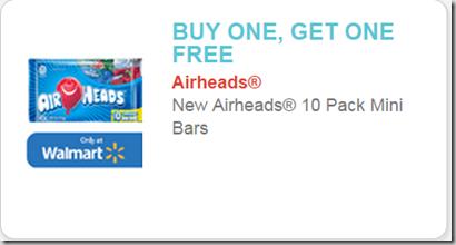 Airheads 10pks Just $.64 at Walmart!