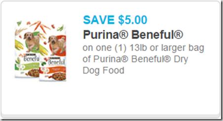 New High Dollar Purina Dog Food Coupons!