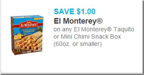 El Monterey Burritos Just $.67 at Walmart!