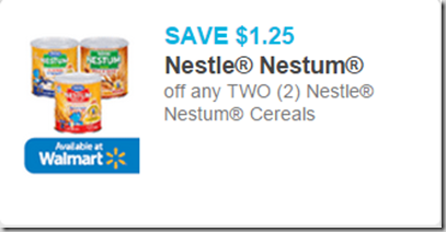 Nestle Nestum Cereal Just $2.50 at Walmart!