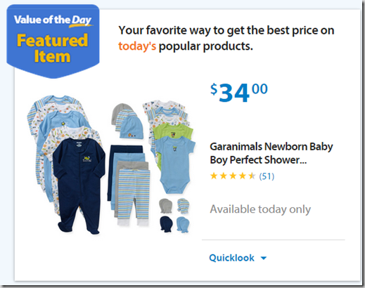 Walmart Values of the Day: Geranimals Gift Set Just $34 or Dartboard Cabinet Just $37.99!