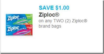 Ziploc Bags Just $.98 at Walmart!