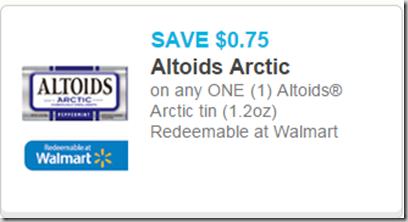 Altoids Arctic Just $.89 at Walmart!