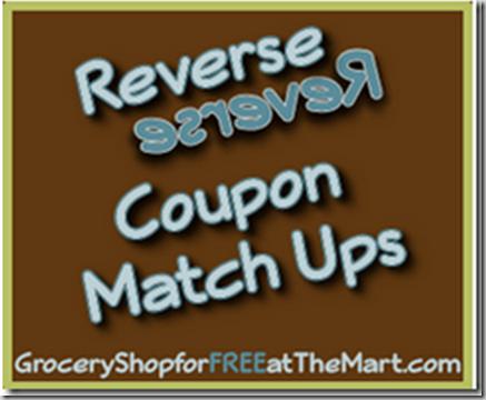 4/26 Reverse Coupon Matchups!