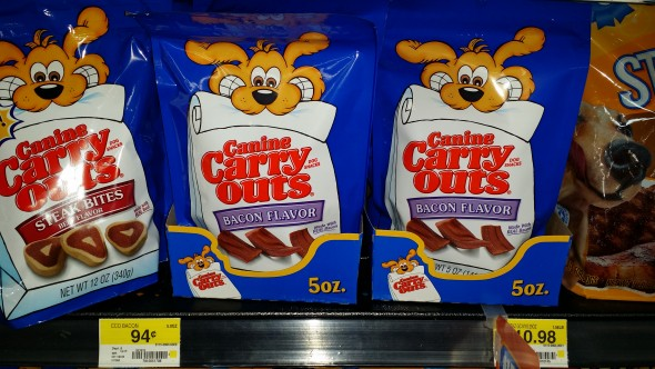 Canine Carry Outs Dog Snacks Just $.69 at Walmart!
