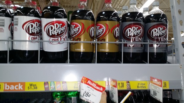 Dr. Pepper 2 Liters Only $0.38 at Walmart!