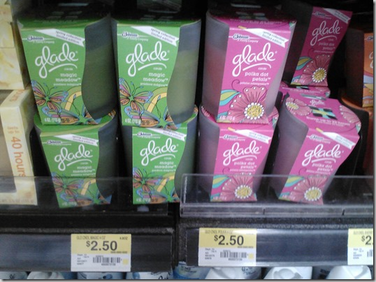 FREE Glade Jar Candles and Warmers with Overage at Walmart!
