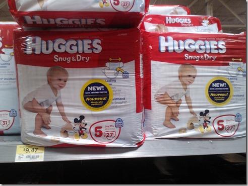 Save $1.50 on Huggies Snug & Dry Ultra Diapers!