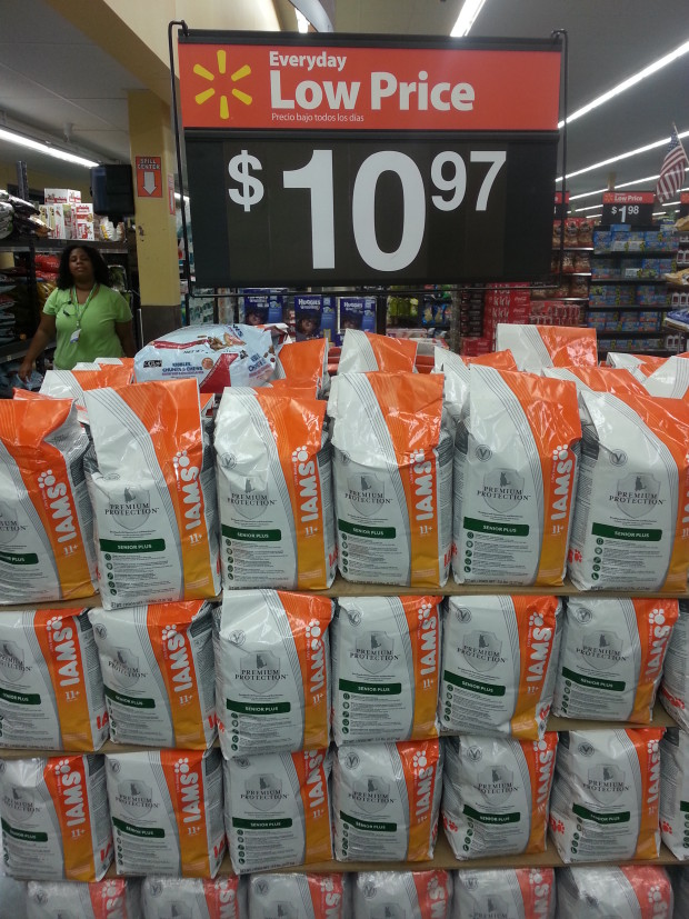 Iams Dry Cat Food Only $8.97 at Walmart!