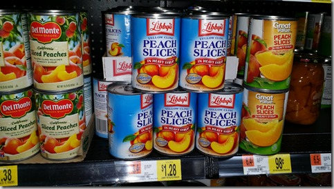 Libby's Vegetables Just $.25 at Walmart!