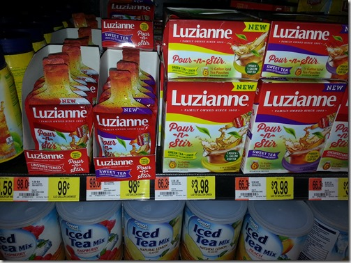 FREE Luzianne Pour-n-Stir with BIG Overage!