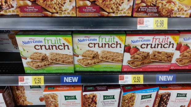 Nutri-Grain Bars as low as $2.25 at Walmart!