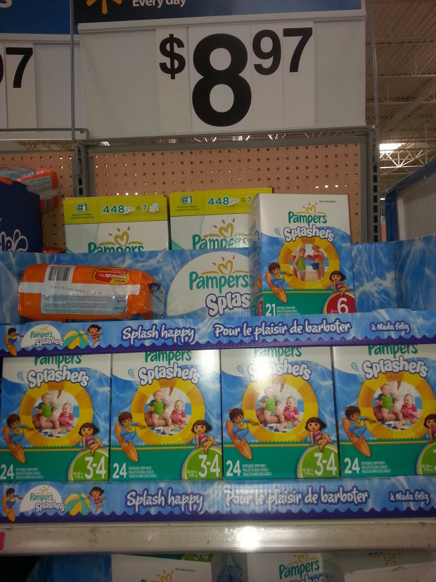 Pampers Splashers Only $6.97 at Walmart!