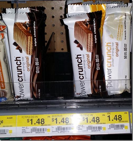 New Printable Coupon for PowerCrunch Bars and Walmart Deal Matchup!