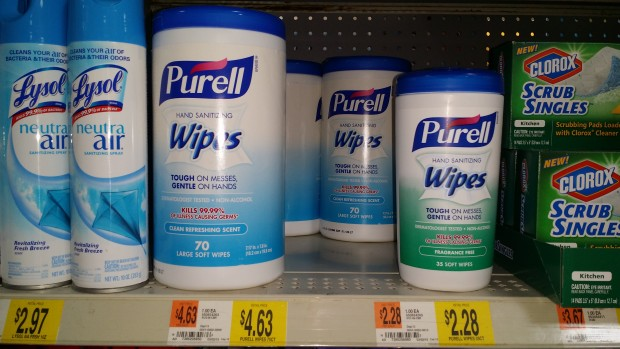 Purell Wipes Only $1.28 at Walmart!