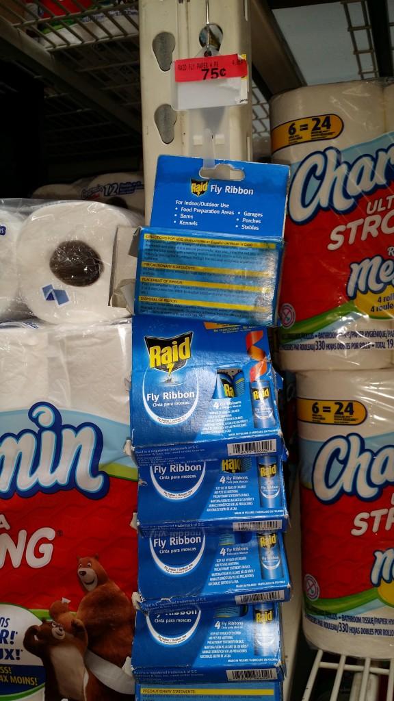 FREE Raid Fly Ribbons + OVERAGE at Walmart!