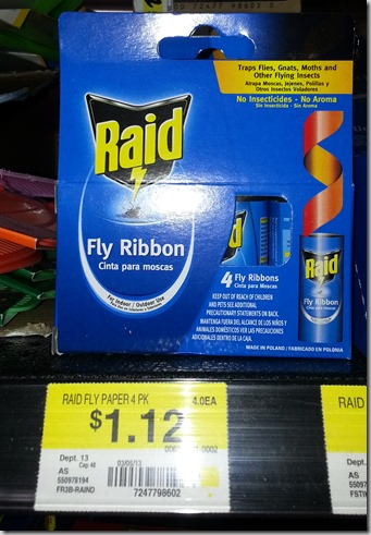 FREE Raid Fly Ribbons with Overage at Walmart!