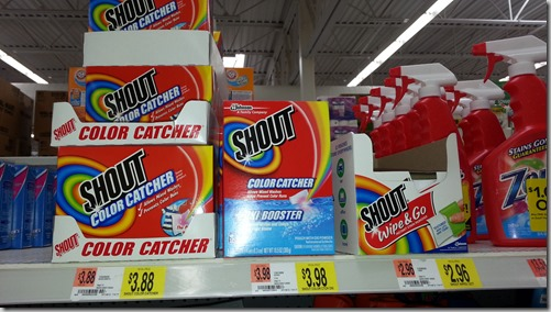 Shout Advanced Products are $.96 at Walmart!