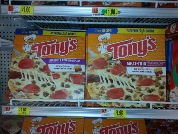 Tony's Pizza Only $1.60 at Walmart!