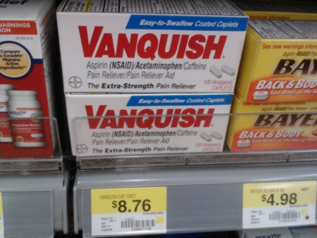 Vanquish Headache Relief Product Only $5.76 at Walmart!