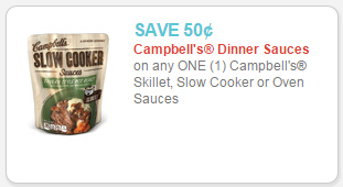 campbell's sauces coupon