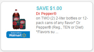dr pepper coupon