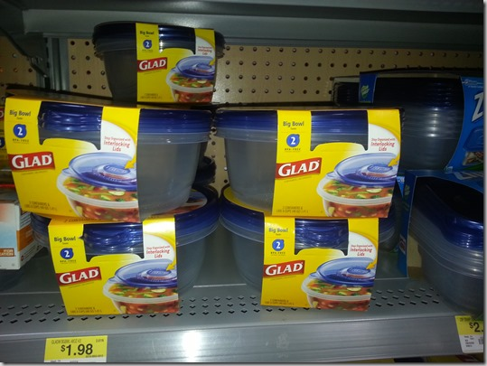 FREE Glad Cling Wrap with Overage at Walmart!