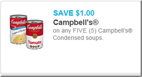 Campbell's Soup Starting at $.62 at Walmart!