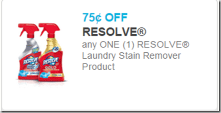 Resolve Laundry Stain Remover Just $1.73 at Walmart!