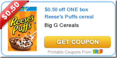 Walmart Price Match Deal: Reese's Puffs Cereal Just $.99!