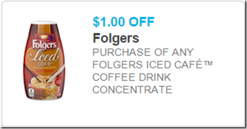 Folgers Iced Coffee Mix is $3.82 at Walmart!