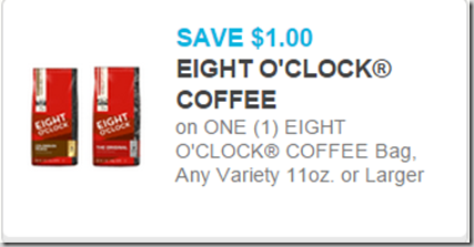 Eight O'Clock Coffee Just $3.98 at Walmart!