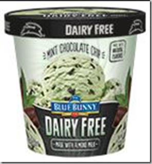 Save $2 on Blue Bunny Dairy Free Pints!