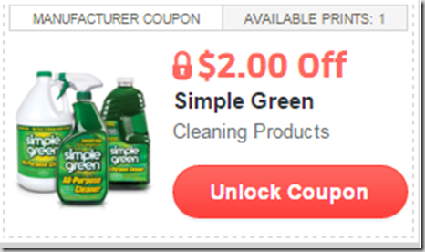 FREE Simple Green Cleaner with Overage at Walmart!