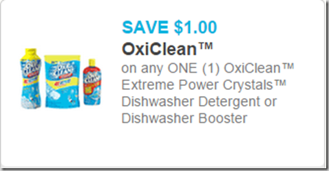 Oxi Clean Dish Detergent Just $2.97 at Walmart!