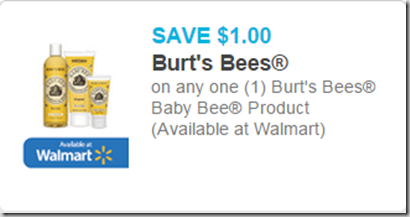 Burt's Bee Baby Bee Lotion is $8.97 at Walmart!