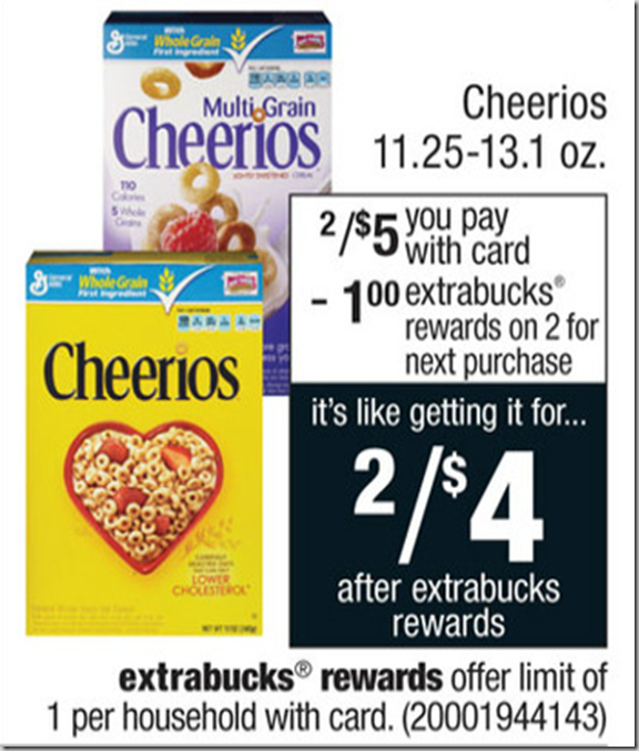 Walmart Price Match Deal: Multi-Grain Cheerios Just $1.00!