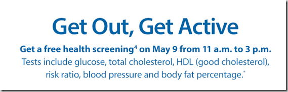 FREE Health Screening This Weekend at Sam's Club!