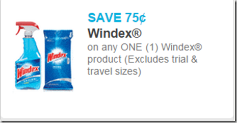 Windex Spray Just $.23 at Walmart!